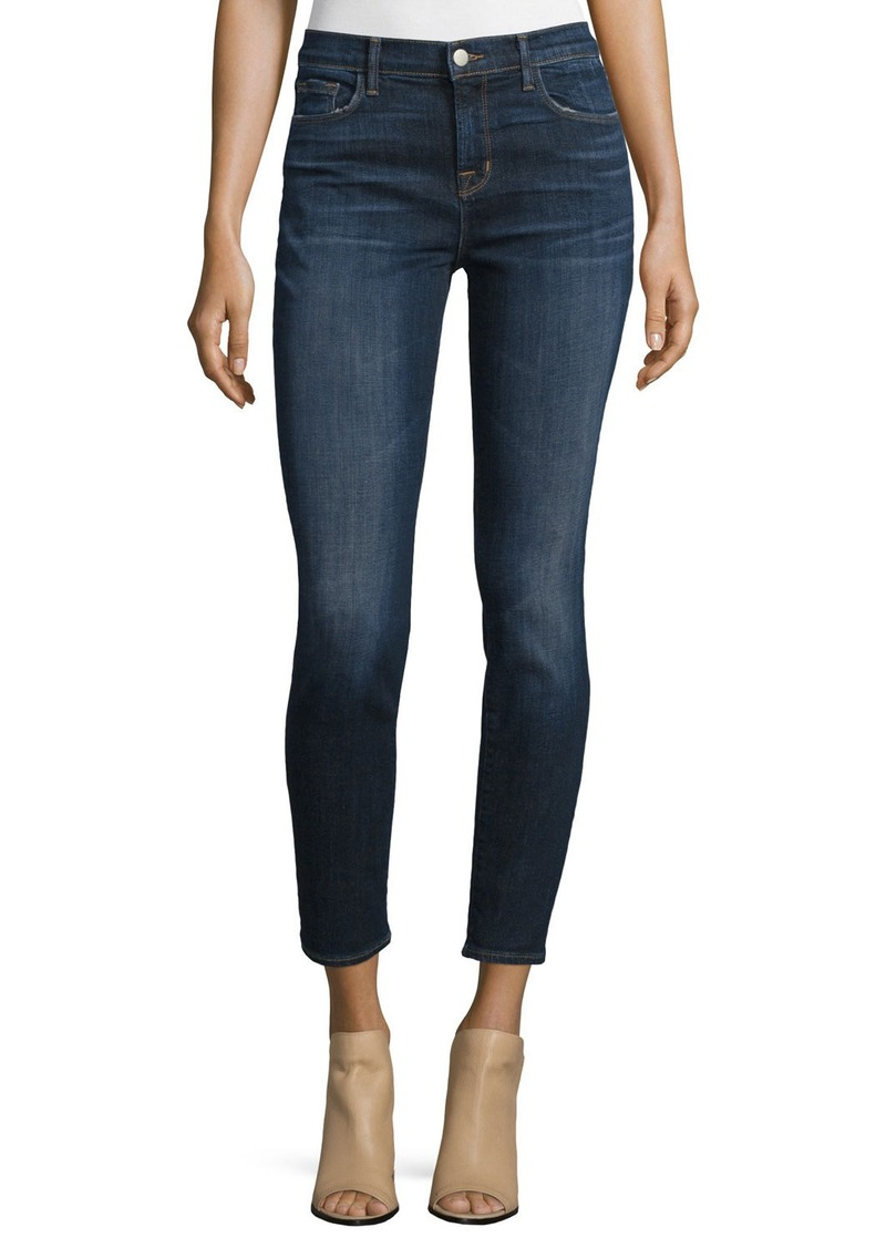 j brand j brand 811 mid rise skinny cropped jeans denim shop it to me. Black Bedroom Furniture Sets. Home Design Ideas