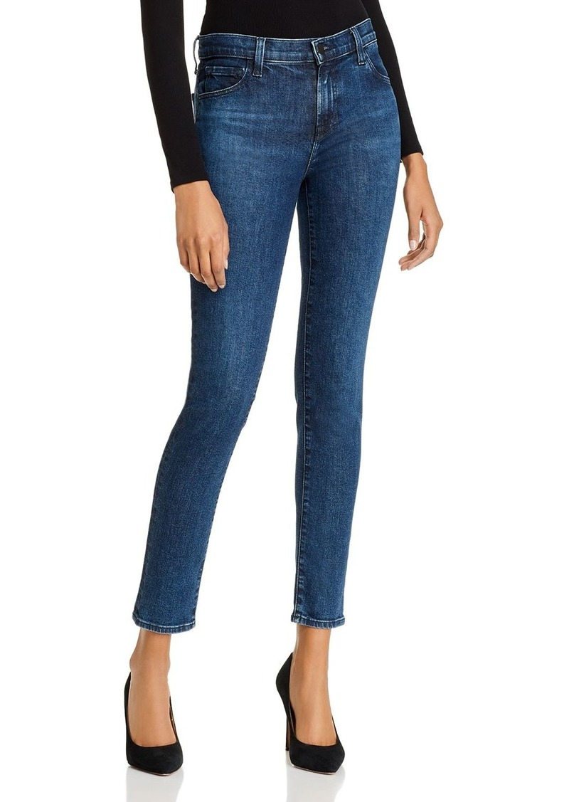 J Brand 811 Mid-Rise Skinny Jeans in Commit