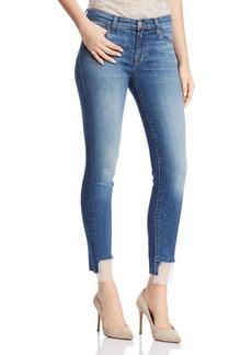 J Brand 811 Mid Rise Skinny Jeans in Gossamer