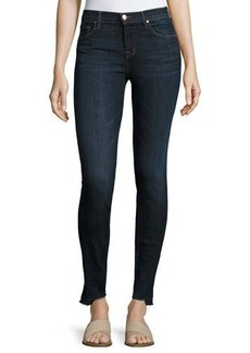 J Brand 811 Mid-Rise Skinny Jeans with Step Hem