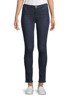 811 Pintuck Skinny Jeans