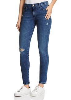 J Brand 811 Skinny Jeans in Swift Destruct