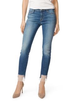 J Brand 811 Step Hem Skinny Jeans (Gossamer)