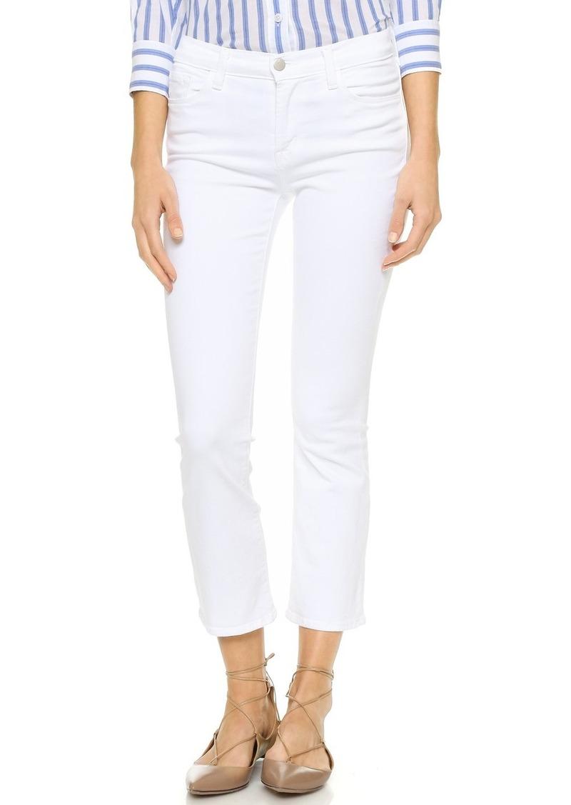 J Brand 8314 Selena Mid Rise Crop Jeans