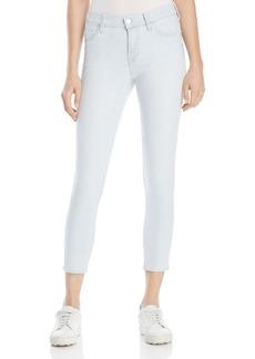 J Brand 835 Capri Jeans in Bleached Stripe