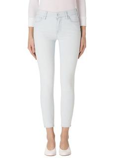 J Brand 835 Capri Skinny Jeans (Bleached Stripe)