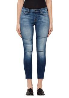 J Brand 835 Crop Skinny Jeans (Jasper Patched)