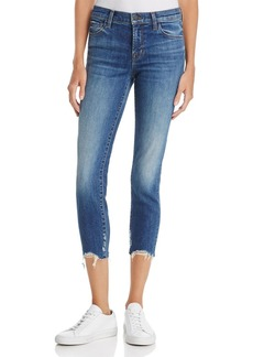 J Brand 835 Cropped Skinny Jeans in Revoke - 100% Exclusive