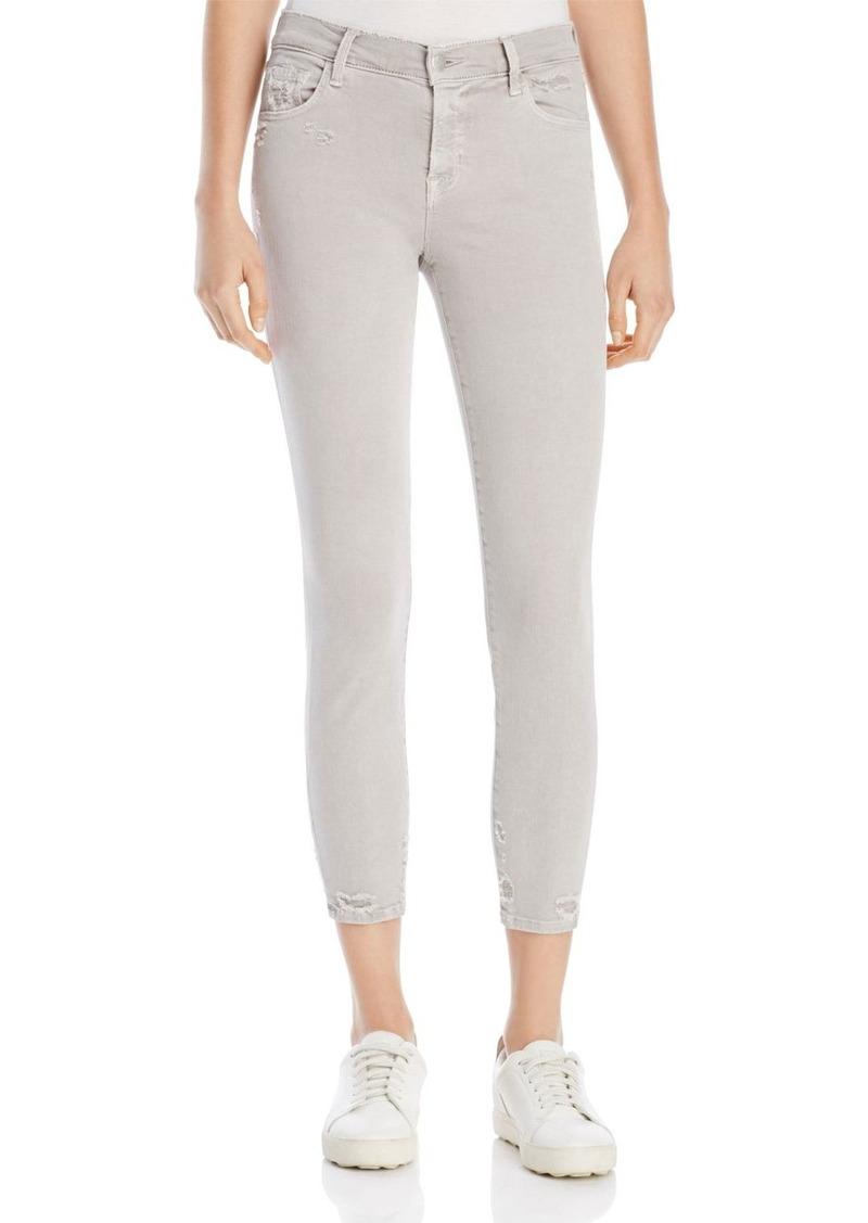 J Brand 835 Capri Jeans in Smokey Grey