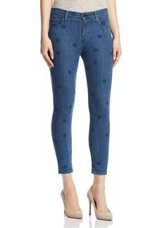 J Brand 835 Mid Rise Capri Skinny Jeans in Aerial