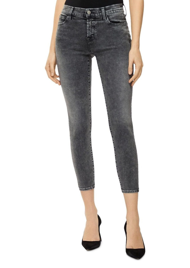 J Brand 835 Mid-Rise Crop Skinny Jeans in Hook Up