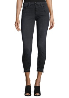 J Brand 835 Mid-Rise Cropped Skinny Jeans
