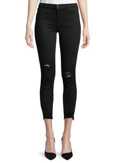 J Brand 835 Mid-Rise Skinny Capri Jeans