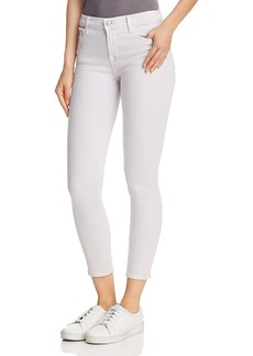 J Brand 835 Skinny Capri Jeans in Frosted Amethyst
