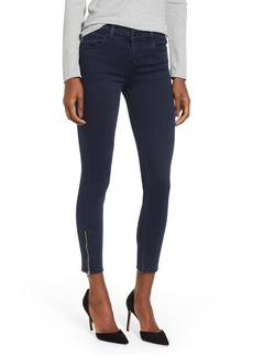 J Brand 835 Zip Hem Crop Skinny Jeans (Rhythm)