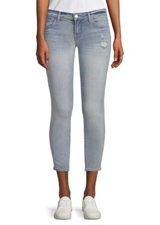 J BRAND 9326 Low-Rise Cropped Skinny Jeans