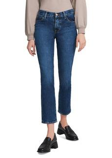 J Brand Adele Ankle Straight-Leg Jeans