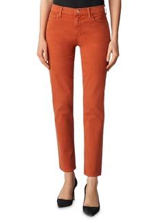 J Brand Adele Ankle Straight-Leg Jeans in Lazlo