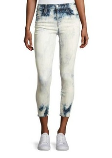 J Brand Alana Bleached High-Rise Skinny Ankle Jeans