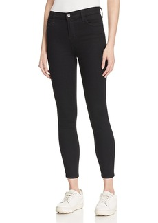 J Brand Alana Crop High Rise Jeans in Vanity