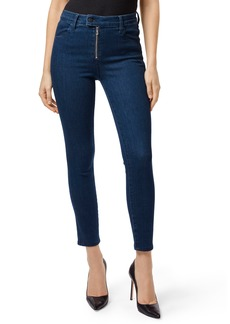 J Brand Alana Exposed Zip High Waist Ankle Skinny Jeans (Whirlwind)