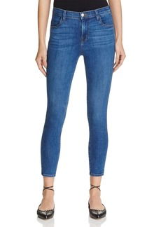 J Brand Alana High Rise Crop Jeans in Connection