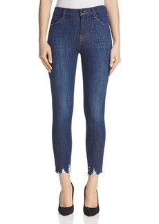 J Brand Alana High Rise Crop Jeans in Dark Fantasy