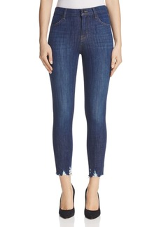 J Brand Alana High Rise Crop Jeans in Dark Fantasy