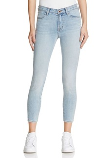 J Brand Alana High Rise Crop Jeans in Deserted