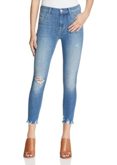 J Brand Alana High Rise Crop Jeans in Fantasy