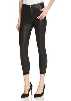J Brand Alana High Rise Crop Jeans in Fearless