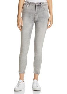 J Brand Alana High Rise Crop Jeans in Interstellar