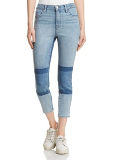J Brand Alana High Rise Crop Jeans in Soho - 100% Exclusive