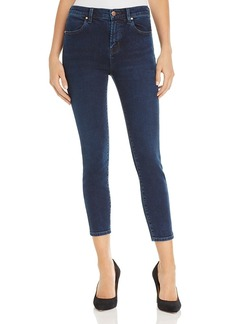 J Brand Alana High Rise Crop Jeans in Throne