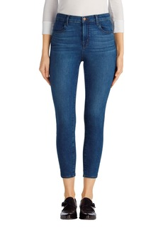 J Brand Alana High Rise Crop Skinny Jeans (Connection)