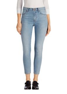 J Brand Alana High Waist Crop Skinny Jeans (Deserted)