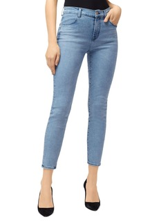 J Brand Alana High-Rise Ankle Skinny Jeans in Soul