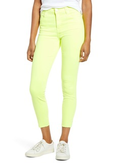J Brand Alana High Rise Crop Skinny Jeans (Occult)
