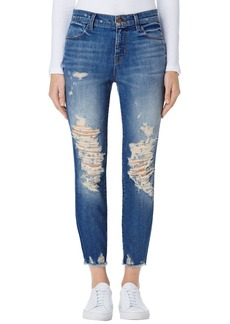 J Brand Alana High Waist Crop Skinny Jeans (Torrent)