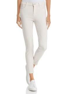 J Brand Alana High-Rise Cropped Jeans in Honesty
