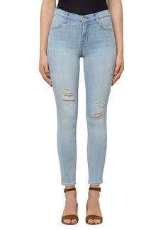 J Brand Alana High Waist Ankle Skinny Jeans (Refresh Destruct)