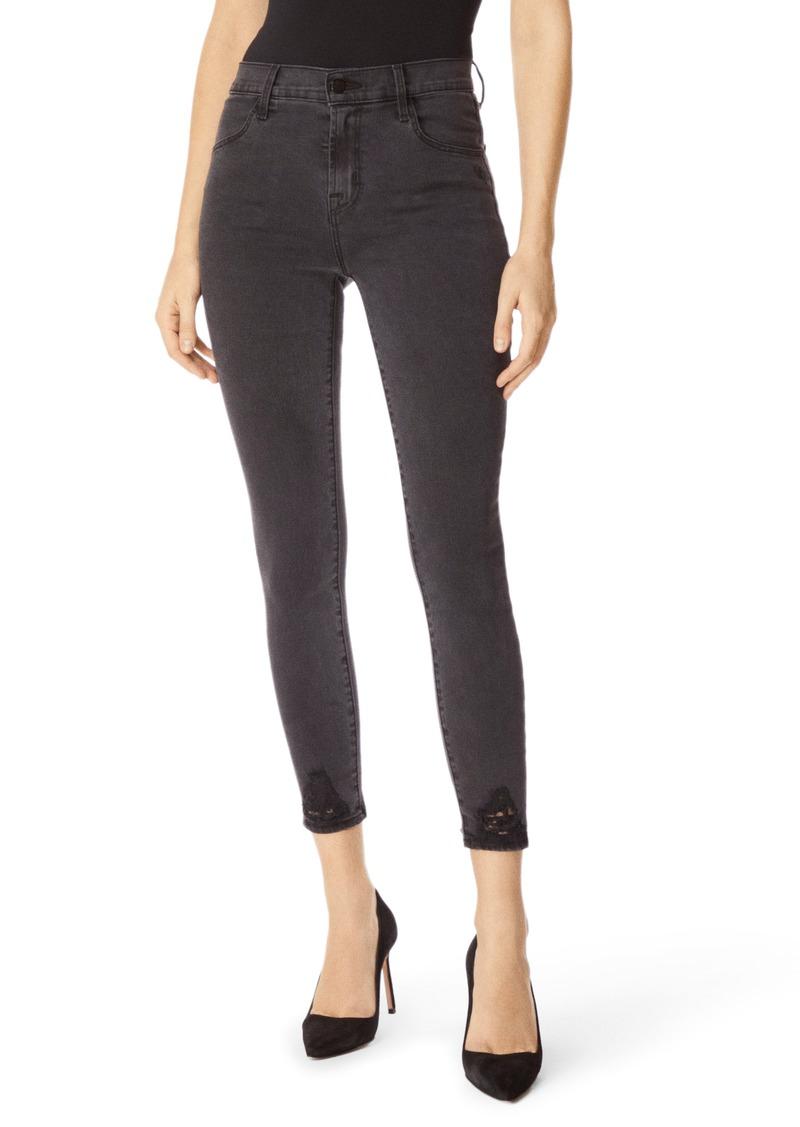 J Brand Alana High Waist Crop Skinny Jeans