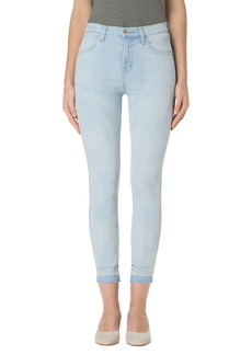 J Brand Alana High Waist Crop Skinny Jeans (Blurred)