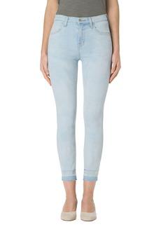 J Brand Alana High Waist Crop Skinny Jeans (Blurred)
