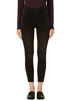 J Brand Alana High Waist Crop Skinny Jeans (Dark Sanctify)