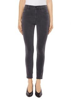 J Brand Alana High Waist Crop Skinny Jeans (Dust)