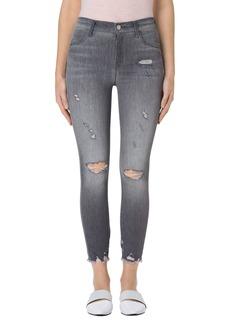 J Brand Alana High Waist Crop Skinny Jeans (Provocateur Destruct)