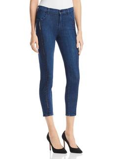J Brand Alana Ladder Lace Jeans in Indigo Ladder Lace