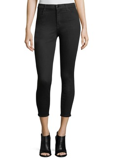 J Brand Alana Photo-Ready High-Rise Super Skinny Crop Jeans