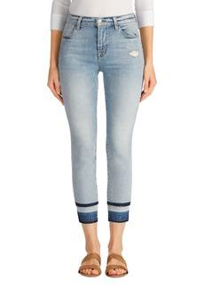 J Brand Alana Released Hem High Rise Crop Skinny Jeans (Remnant)